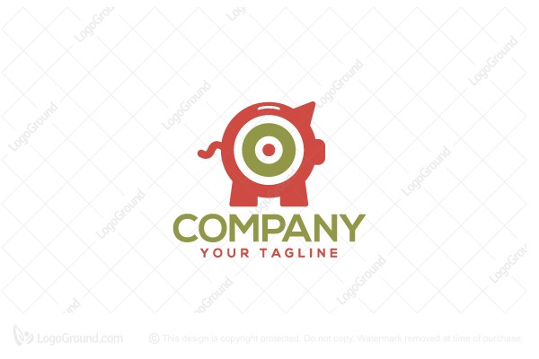 Logo for sale: Target Bank Logo